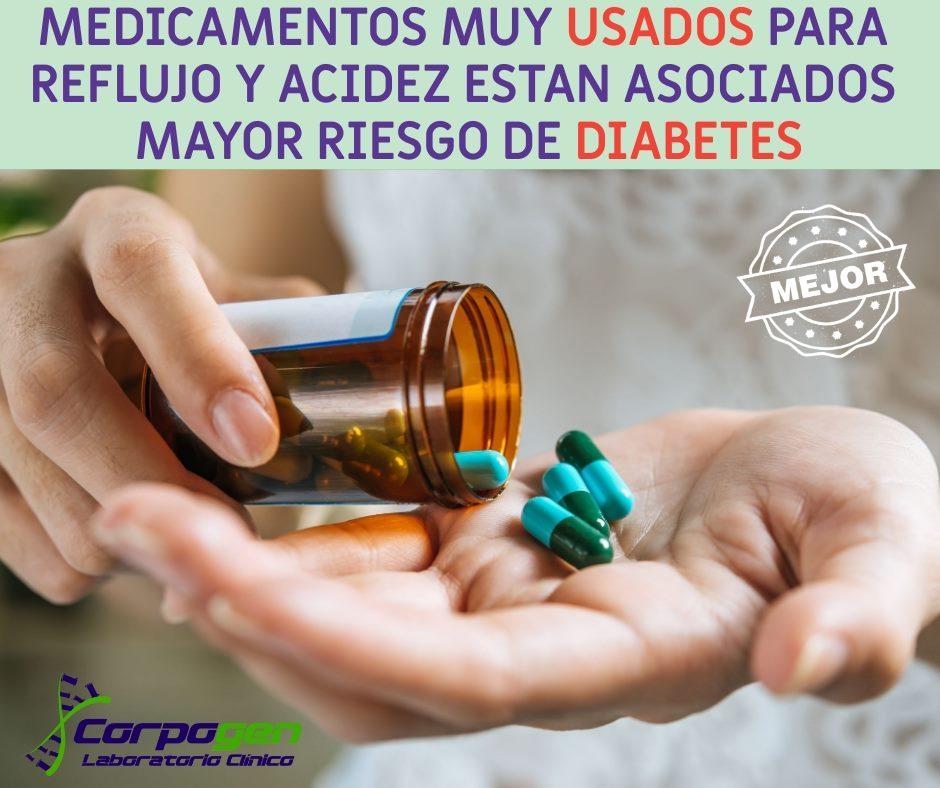 Medicamentos asociados al desarrollo de Diabetes tipo 2